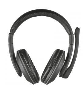 Auriculares con micrófono trust reno - estéreo - volumen en cable - almohadillas blandas - clavija 3.5mm