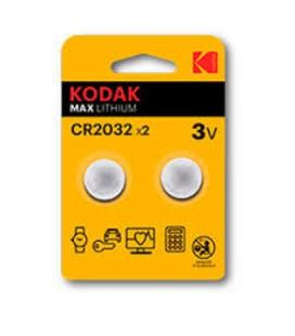 Blister kodak pila boton / litio ultra cr 2032 blister de 2 ude
