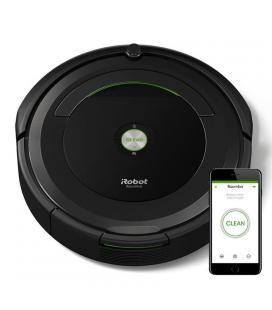 Robot aspirador irobot roomba 696 - navegación iadapt - limpieza 3 fases - sensores acusticos - filtro aerovac - aplicación - Im