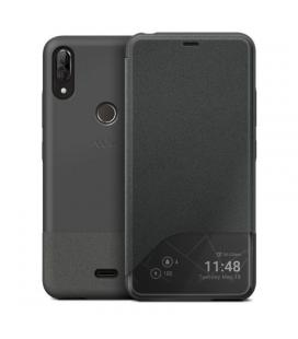 Funda smart folio wiline gris wiko para view2 plus