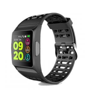 Reloj inteligente spc smartee sport 4 - pantalla 3.3cm - bt4.2 - gps - pulsometro - ecg - barometro - notificaciones - rechaza