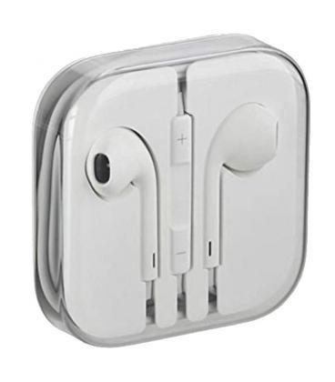 Auriculares earpods de apple con mando y micrófono - mnhf2zm/a bulk - Imagen 1