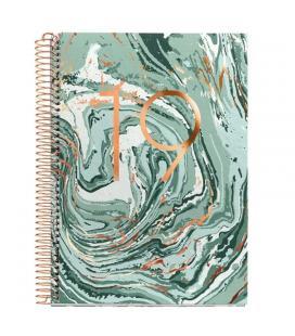 Agenda miquel rius plus espiral 15'5x21'3cm mineral - semana vista s/v de enero a diciembre 2019 - Imagen 1