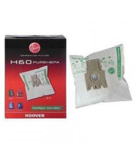 Bolsa pure hepa hoover h60 para aspirador telios plus - 4 unidades - Imagen 1