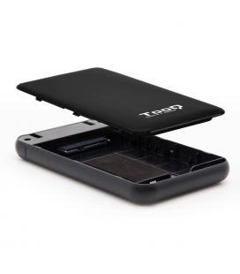 CAJA HDD TOOQ TQE-2528B 2.5'' SATA USB3.1 9,5MM NEGRA