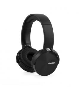 AURICULARES COOLBOX COOLMETAL BLUETOOTH NEGRO