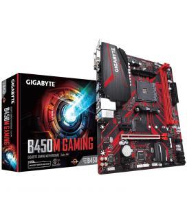 Placa base gigabyte amd b450m gaming ddr4x2 32gb vga dvi-d hdmi micro atx - Imagen 1