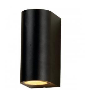 Aplique mural gu10 tubular negro iglux 10016-n - ip 44 - ángulo 60º - aluminio cristal - 68*150*92 - Imagen 1