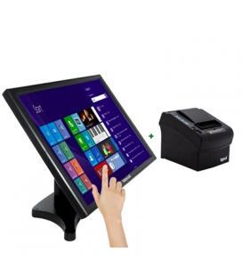 "KIT iggual Monitor Táctil 19"" + Impresora térmica"