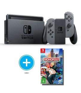Consola nintendo switch grey + juego monopoly