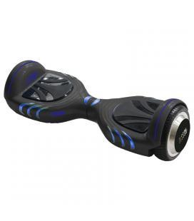 Monopatin electrico hoverboard olsson upway space antracita - llantas 6.5'/16.5cm - 2 motores 250w - bluetooth - altavoz - - Ima