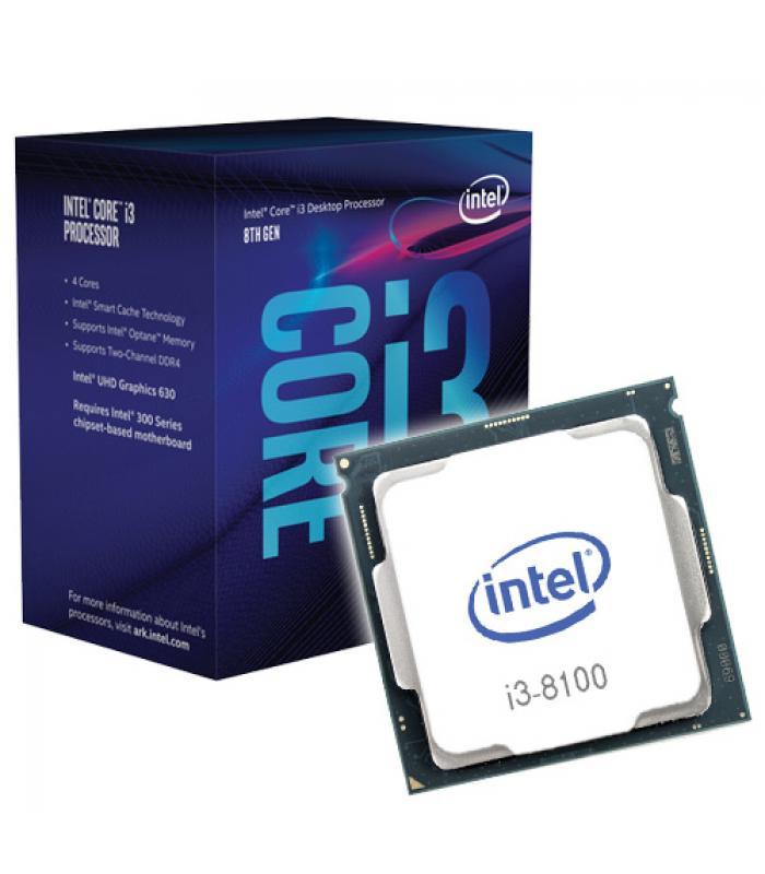 Resultado de imagen para CPU INTEL CORE i3 8100 4CORE 3.6GHZ 65W SOCKET 1151