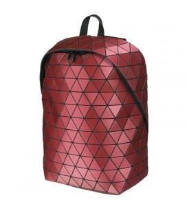 Mochila e-vitta prism roja - para portátiles 15.4'-16'/39.1-40.6cm - interior acolchado - sistema airflow - diseño malla