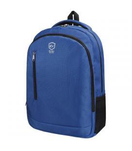 Mochila e-vitta discovery azul - para portátiles 15.4'-16'/39.1-40.6cm - interior acolchado - dos bolsillos de malla - salida