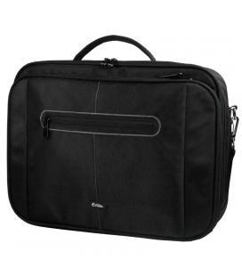 Maletín e-vitta clamshell negro - para portátiles 15.4'-16'/39.1-40.6cm - interior acolchado - amplio compartimento frontal -