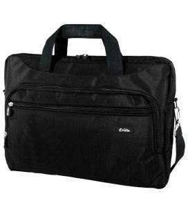 Maletín e-vitta xtreme compact negro - para portátiles 15.4'-16'/39.1-40.6cm - interior acolchado - amplio bolsillo exterior -