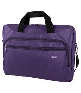 Maletín e-vitta xtreme compact púrpura - para portátiles 15.4'-16'/39.1-40.6cm - interior acolchado - amplio bolsillo exterior