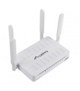Router inalámbrico lanberg ro-175ge - 802.11n/g/b/ac - 1750mbps - 4*antenas 5dbi - 4*lan 10/100/1000 mbps - 1*wan 10/100/1000