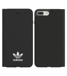 Funda booklet case adidas original basics negra compatible con iphone 6+ / 6s+ / 7+ / 8+