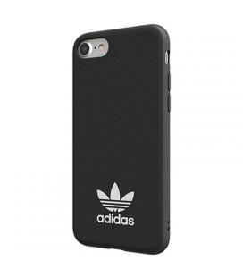 Carcasa adidas original basics negra compatible con iphone 6 / 6s / 7 / 8 - compatible con carga inalámbrica