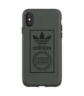 Carcasa adidas original dual layer negra compatible con iphone x / xs - núcleo blando de tpe / exterior de policarbonato - Image