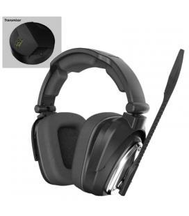 Auricular con micrófono inalámbrico keep-out hxair - 7.1 - 2.4ghz - drivers 40mm - batería 1100mah - transmisor alcance 10m -