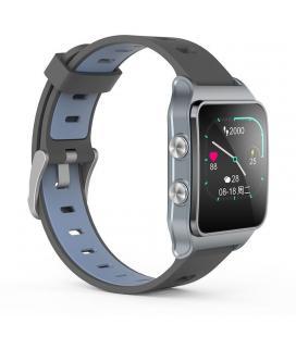 Reloj inteligente leotec training gps swim swolf gris - pantalla táctil oled - bt 4.2 - pulsometro dinámico - hvr - sumergible