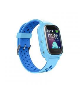 Reloj inteligente con localizador para niños leotec kids allo azul - pantalla táctil - gps - cámara fotos - nanosim - botón - Im