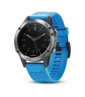 Reloj inteligente garmin quatix 5 con bluetooth - gps - notificaciones - pulsometro - resistencia agua 10 at