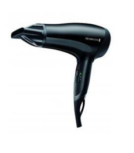 Secador de pelo remington d3010 power dry / ceramica / ionico / 2000w / eco