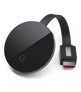 Google chromecast ultra - hdmi - micro usb - resolución 4k ultra hd - hdr - wifi ac - ethernet - android/ios/mac/windows - Image