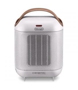 Calefactor cerámico delonghi capsule hfx30c18.iw - 1800w - vertical - 2 ajustes de potencia - ventilación para verano - asas - -