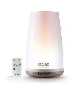 Humidificador solac comfort lamp - 1.8l - tecnología ultrasónica - función lámpara con 3 niveles de luz - temporizador - - Image