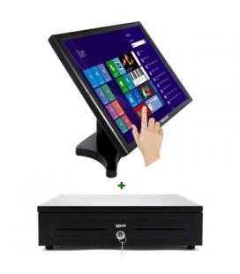 "KIT iggual Monitor Táctil 19"" + Cajón portamonedas"