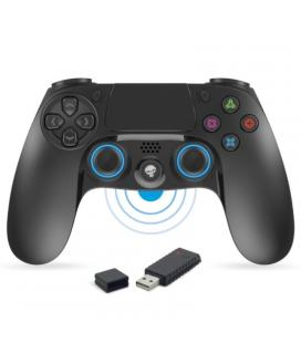 Gamepad spirit of gamer pgp wireless - 16 botones - vibración - compatible pc/ps3/ps4 - inalámbrico 2.4 ghz - receptor nano usb