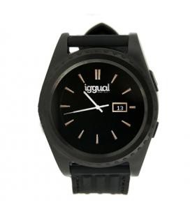 "iggual Smartwatch EVO1 1.2"" IPS BT4.0 Negro"