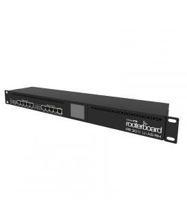 Router mikrotik routerboard rb3011uias-rm - arquitectura arm - 10*lan gigabit - 1*sfp - usb - routeros - enracable 1u