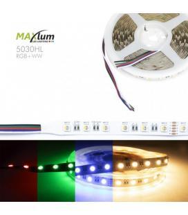 TIRA LED FLEX RGBW 3500K 5m 60 LED/m 5050 24V IP-20 - Imagen 1