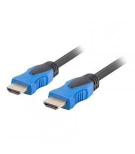 Cable hdmi lanberg ca-hdmi-20cu-0005-bk - conectores macho/macho chapados en oro - resolución hasta 3840*2160 - 0.5 metros -