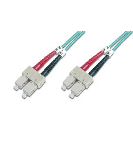 CABLE CONEXIËN FIBRA OPTICA DIGITUS MM OM4 SC a SC 50/125 5m