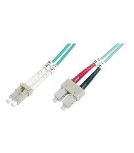 CABLE CONEXIËN FIBRA OPTICA DIGITUS MM OM4 LC a SC 50/125 3m