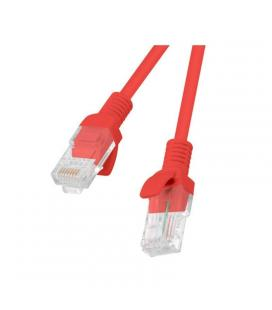 Latiguillo de red lanberg pcu6-10cc-0050-r - rj45 - utp - cat 6 - 0.50m - rojo