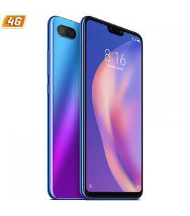 Smartphone móvil xiaomi mi 8 lite azul aurora - 6.26'/15.90cm - oc snapdragon 660 - 6gb ram - 128gb - cam (12+5)/24mp - 4g -
