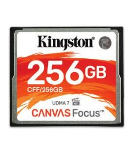 KINGSTON 256GB COMPACTFLASH CANVAS FOCUS UP TO 150R/130W UDMA7 VPG-65