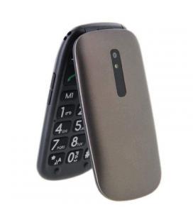 Teléfono móvil libre telefunken tm 220 cosí marrón - pantalla 2.4'/6.09cm - teclas grandes - gsm - cámara - radio fm - mp3 -