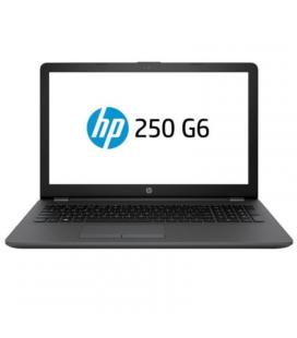 Portátil hp 250 g6 3qm21ea - i3-7020u 2.3ghz - 4gb - 480gb ssd - 15.6'/39.6cm hd - wifi - bt - hdmi - vga - freedos 2.0 - negro