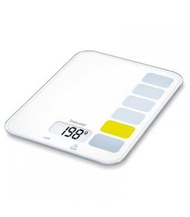 Báscula de cocina beurer ks-19 sequence - hasta 5kg - precisión 1g - botones de sensor - función tara - Imagen 1