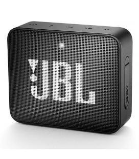 Altavoz bluetooth jbl go 2 black - 3w - bt4.1 - entrada 3.5mm - ipx7 resist. al agua - batería recargable - función manos libres
