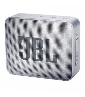 Altavoz bluetooth jbl go 2 grey - 3w - bt4.1 - entrada 3.5mm - ipx7 resist. al agua - batería recargable - función manos libres