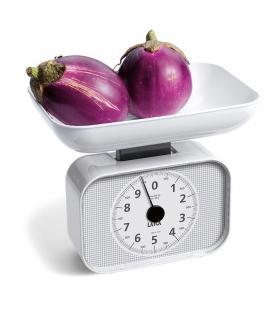 Báscula mecánica de cocina laica ks2001 blanca - hasta 10kg - precisión 50g - incluye bol - Imagen 1